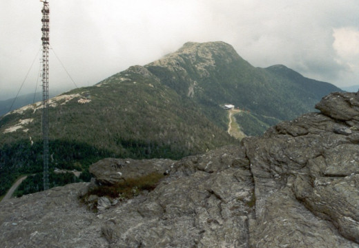 Mount Mansfield's Chin from the Nose. Vermont.