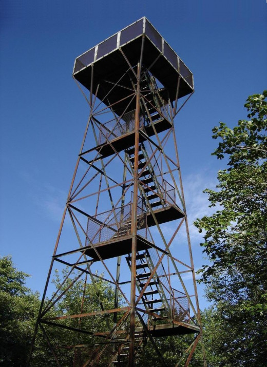 Observation tower, Mount Davis, Pennsylvania.