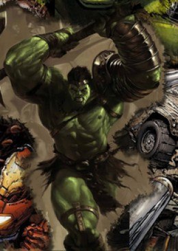 Word War Hulk smash