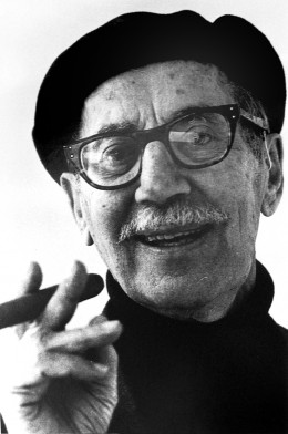 Groucho Marx as an older gentleman