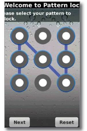 Pattern Lock Free for BlackBerry