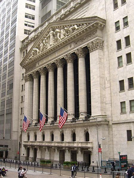 New York Stock Exchange. Source: Luigi Novi