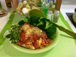 My Easy Tomato Basil Parmesan Chicken Dish