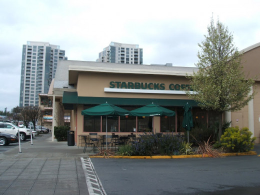 Starbucks Coffee Shop in Bellevue, Washington
