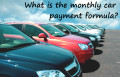Formula for Monthly Auto Loan Payments