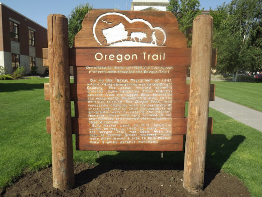 Dedication to the Oregon Trail Pioneers