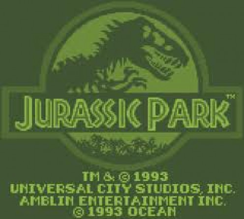 Jurassic Park was released for the Gameboy in 1993 and it features eight levels of action. This was a popular game series as evidenced by the sequels that were released on other Nintendo systems, both hand held and home systems.