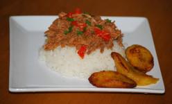 Island Bites: Ropa Vieja (Caribbean Shredded Beef Stew)