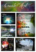 Bible Verses: Psalm 139: Commentary, Study and Art