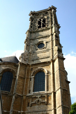 Tower of the Basilica of St. Servatius, Grimbergen