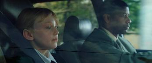 Denzel Washington plays as a bodyguard hired to protect Dakota Fanning in Man on Fire.