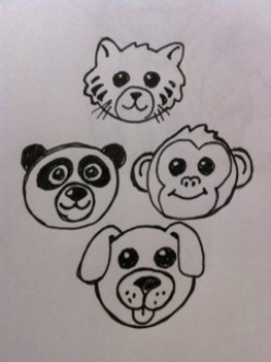 How to Draw a Cute Animal Face