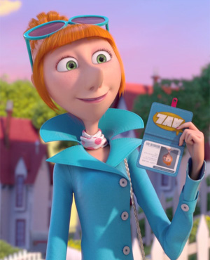 Kristen Wiig as Lucy Wilde in Despicable Me 2