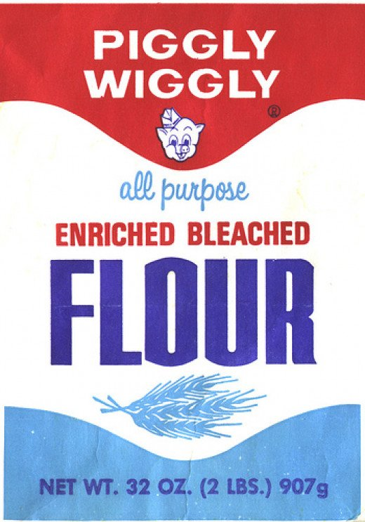 Piggly Wiggly flour bag by afiler on Flickr