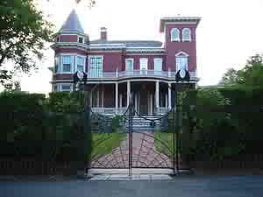 Stephen King's House in Bangor, Maine