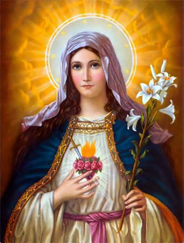 The Immaculate Heart of Jesus' mother, Mary