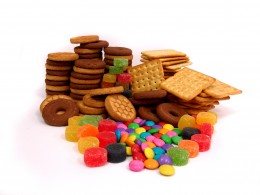 Of course, candy and other snacks contain HFCS.