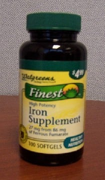 "This site says ""Hazard: The iron supplements are not in child-resistant packaging as required by the Poison Prevention Packaging Act. Ingesting multiple iron supplements at once can cause serious injury or death to young children."""