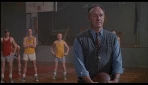 Dennis Hopper stars in the inspirational basketball film about the underdog Indiana  Hoosiers. It will make you cry and smile the whole movie.