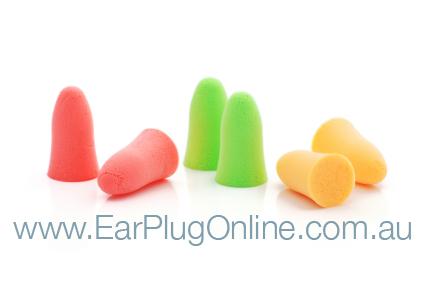 Foam earplugs