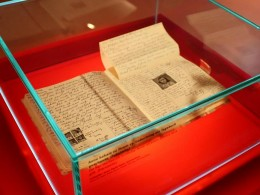 Diary of Anne Frank on display in Berlin