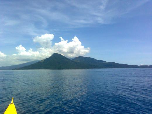 The serene seas!