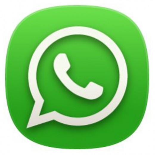 WhatsApp for iPhone 5 logo
