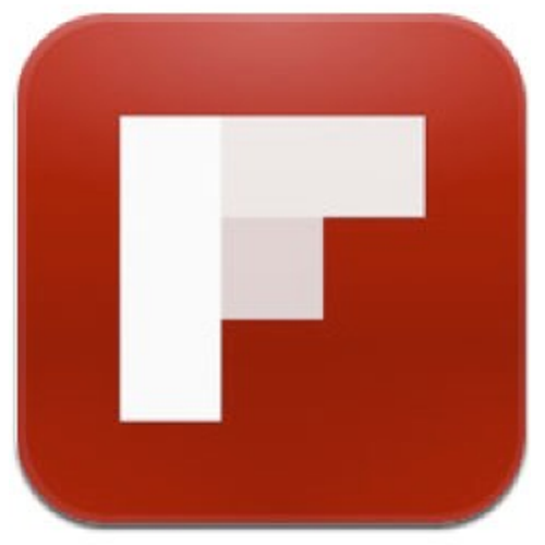 Flipboard for iPhone 5 logo