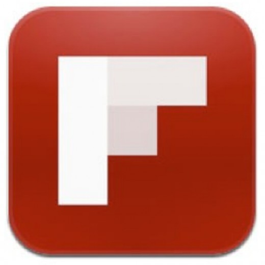 Flipboard for iPhone 5 logo
