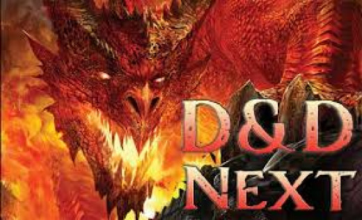 current artwork for Dungeons and Dragons:Next