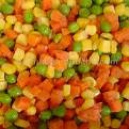 BOILED MIXED VEGETABLES!NO DRESSING!