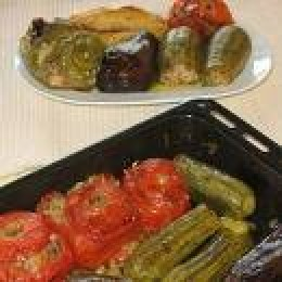 BAKED VEGETABLES IN CASSEROLE!
