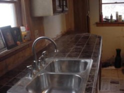 How to Make A Granite/Marble Counter Top For your Kitchen or Bath For Pennies