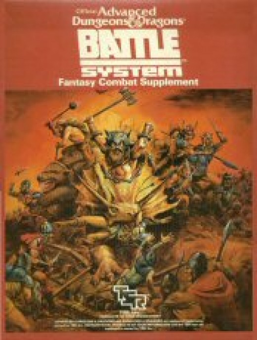 cover of the first edition of Battlesystem for Advanced Dungeons and Dragons