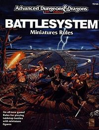cover art of second edition of Battlesystem published in 1989