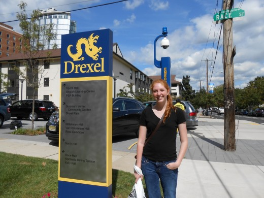 First Day of college, Drexel University, Philadelphia, PA