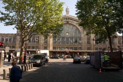 Intersection of Place Napoléon III and Boulevard de Denain at Gare du Nord, Paris