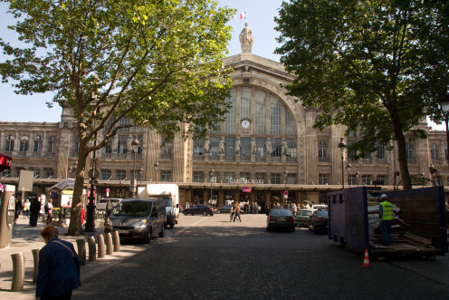 Intersection of Place Napoléon III and Boulevard de Denain at Gare du Nord, Paris