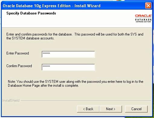 Choose a password