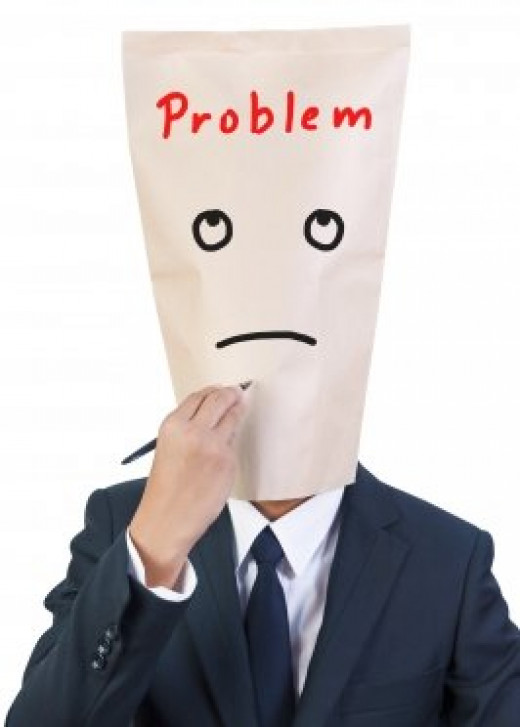 Worrying about a problem even when it hasn't happened? Stop stressing out about fictitious problems because such stress will weaken you mentally and emotionally.