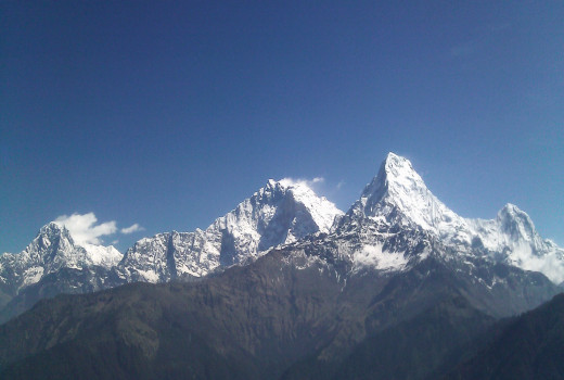 Annapurna I: There are numerous mountains in Annapurna Mountain Range