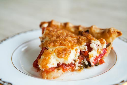 Tomato Pie Is So Delicious. If you've never tasted tomato pie you have to make one of these and taste it.