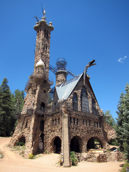 Bishop's Castle, near Pueblo, Colorado