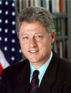 President BILL CLINTON - 1992 to 2000