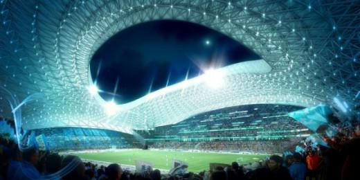 Marseille's Stade Velodrome reconstruction