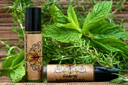 Perfumes with peppermint, like this minty energy perfume, will keep you smelling good and feeling great.