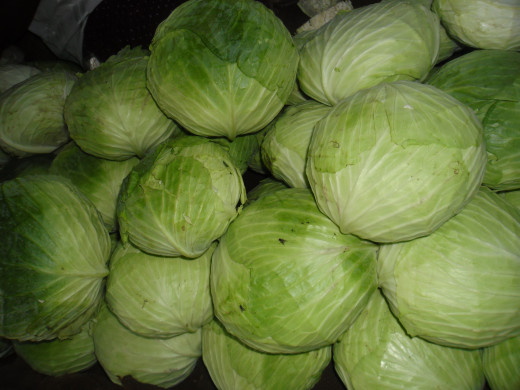 Cabbages!