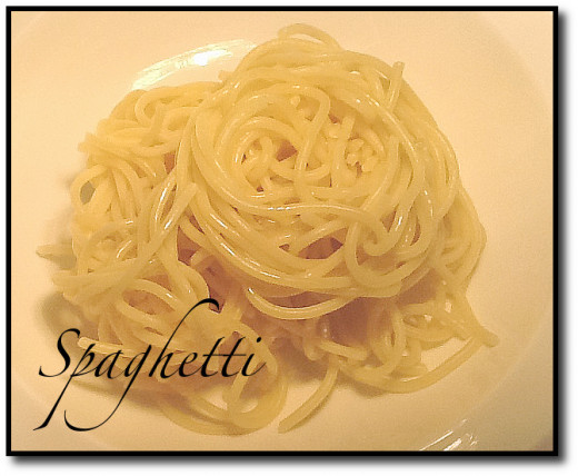 Spaghetti cooked to perfection