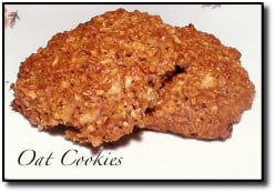 Oat Cookie Recipe Chewy and Delicious