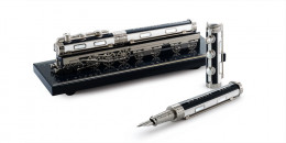 S.T. Dupont Orient Express Diamond Collection Writing Kit